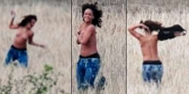 Rihanna nuda