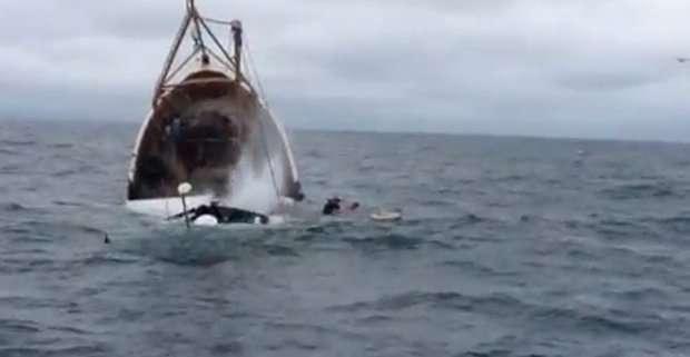 Peschereccio affonda in Irlanda