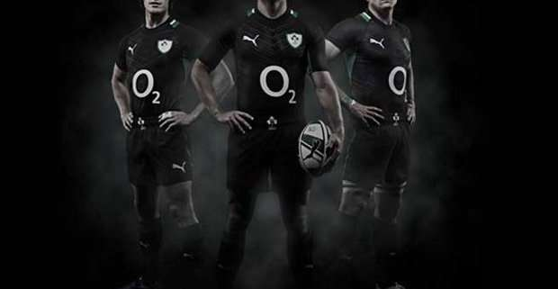 Nuova maglia Irlanda stile All Black