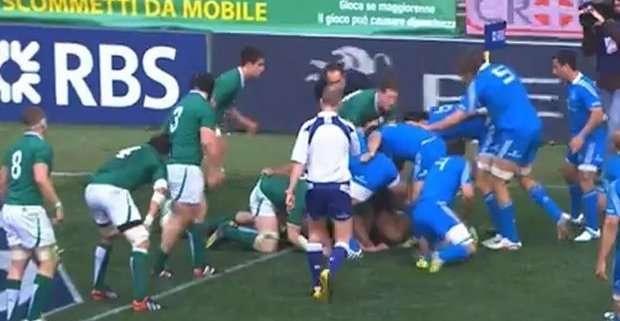 Sei Nazioni 2013. L'Italia batte l'Irlanda all'Olimpico di Roma 22-15