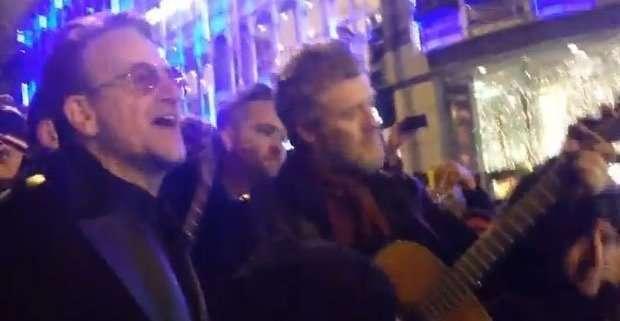 Bono su Grafton Street
