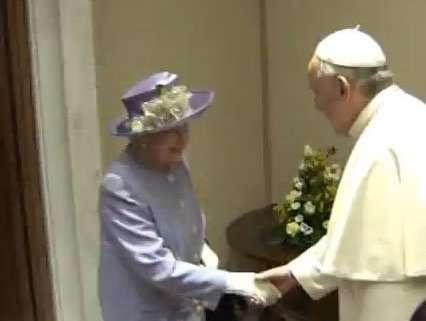 Elisabetta II a Roma