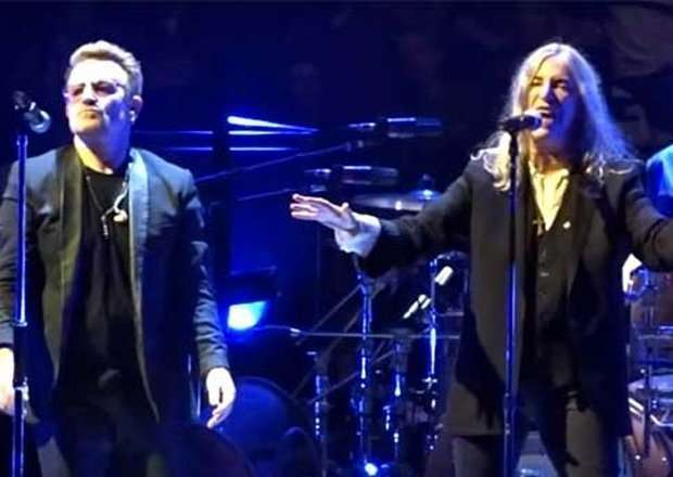 Patti Smith e U2 a Londra