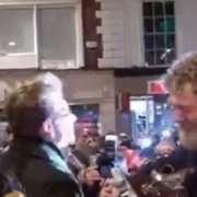 Bono e Glen Hansard