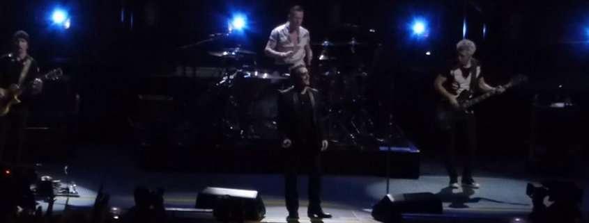 Il concerto degli U2 a Parigi