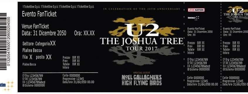 Biglietti per gli U2 a Roma in prevendita su TicketOne