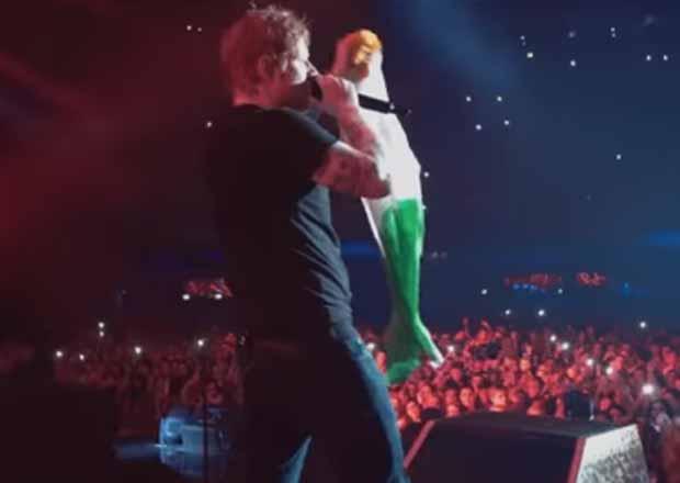 Ed Sheeran: il video ufficiale Galway Girl
