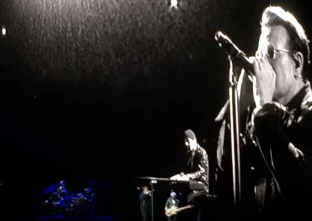 Omaggio degli U2 a Chris Cornell