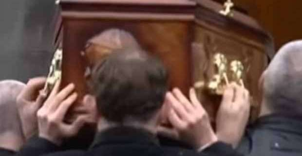 I funerali di Dolores O'Riordan