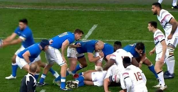 Italia, battuta dalla Francia 34-17