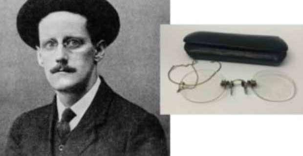 Occhiali di James Joyce